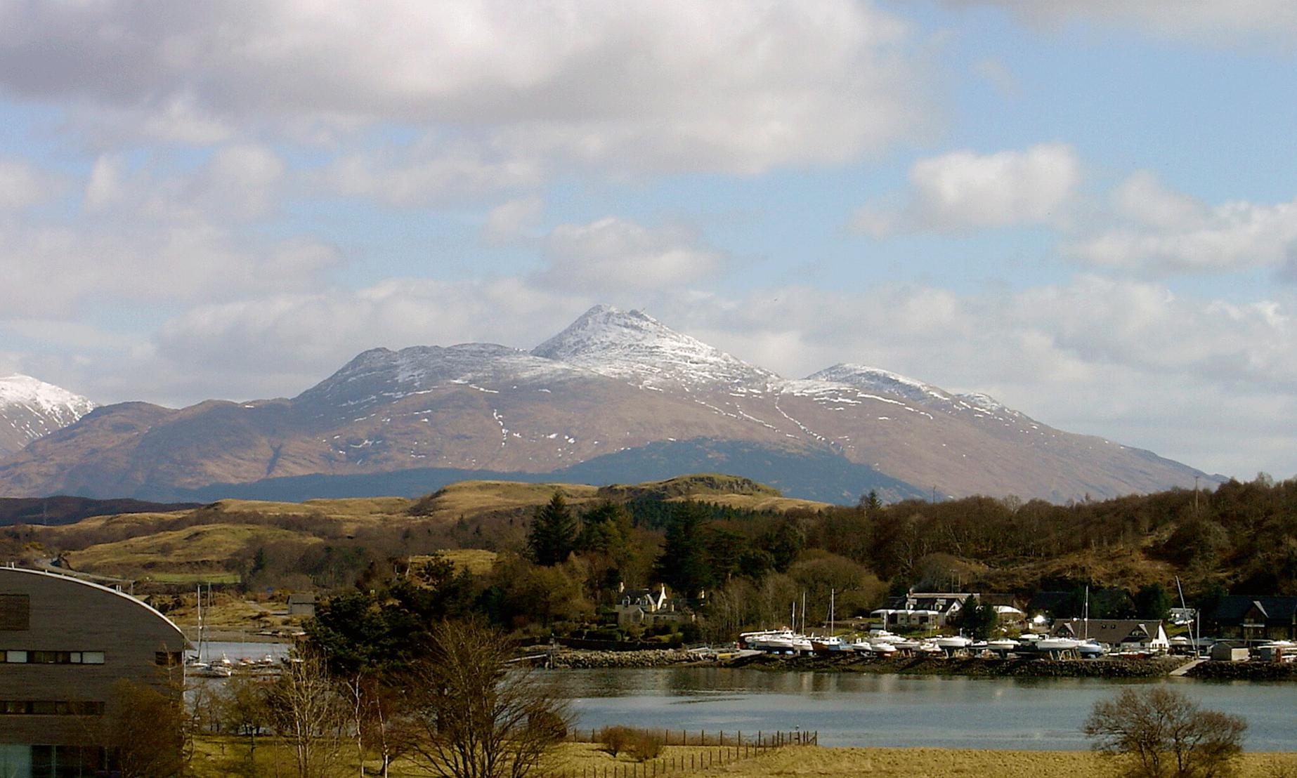 Munro at Fort William